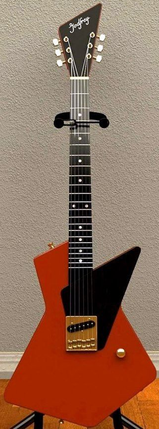 "Les Godfrey ""Lesplaurer"" electric Guitar --- https://www.pinterest.com/lardyfatboy/"