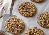 REESES MINI PIECES Oatmeal Cookies