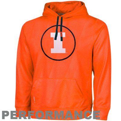 Nike Illinois Fighting Illini KO Performance Hoodie - Orange