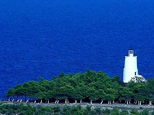 Spetses' lighthouse