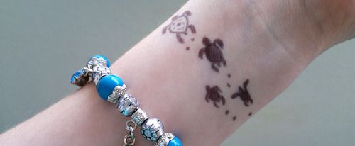 Small Henna Wrist Tattoos Sea Turtle And Lotus Infinity: 228 Best Tattoo's Images On Pinterest