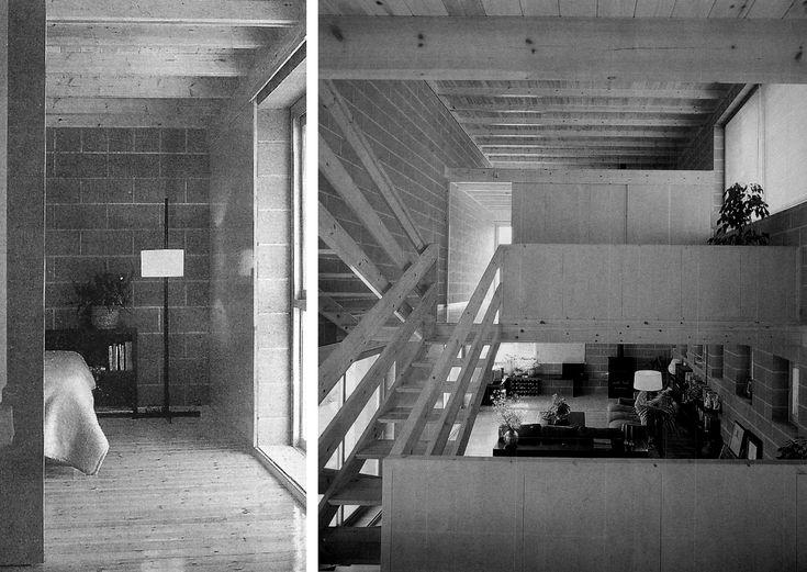 Alfons Soldevila, Josep Ignasi Llorens, casa experimental MR 6 interior