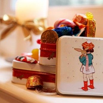 Belle & Boo White Christmas Tin