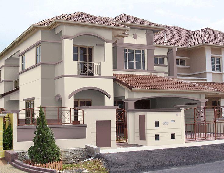 Nippon Paint - Colour Schemes For Home : Exterior | House ...