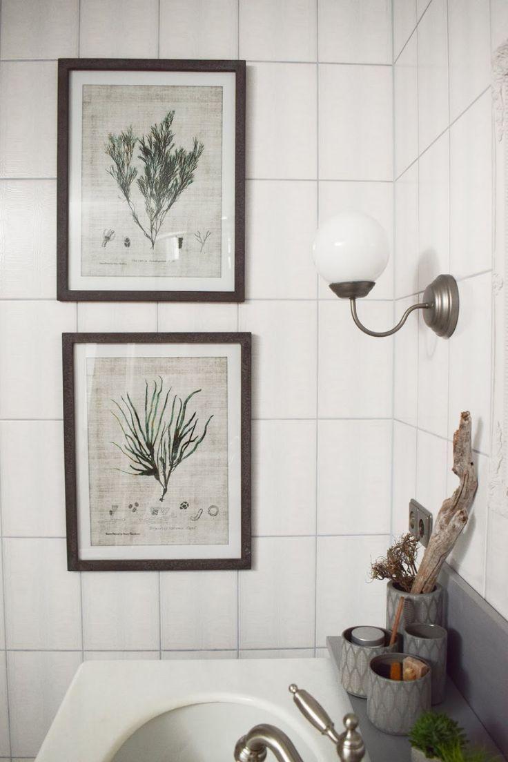Diy Verschonerung Badezimmer So Holt Ihr Das Beste Aus Eurem Alten Bad Heraus Mrs Greenery In 2020 Gallery Wall Home Decor Home