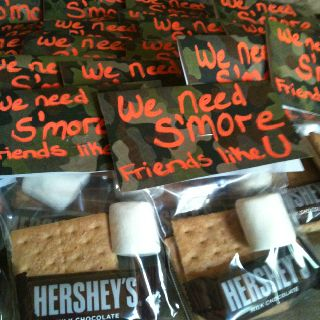 S'mores in a bag. Great float trip idea!