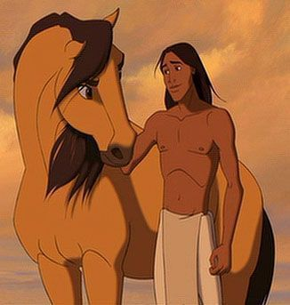 Spirit - Stallion Of The Cimarron. This is a good one and I LOVE the music :D