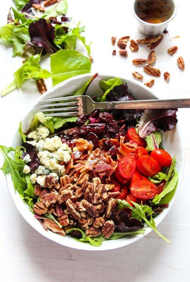 Apple Bacon Gorgonzola Salad with Balsamic Dressing | Community Post ...