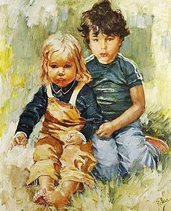 Il mondo di Mary Antony: Charles Roka - Illustrazioni bambini