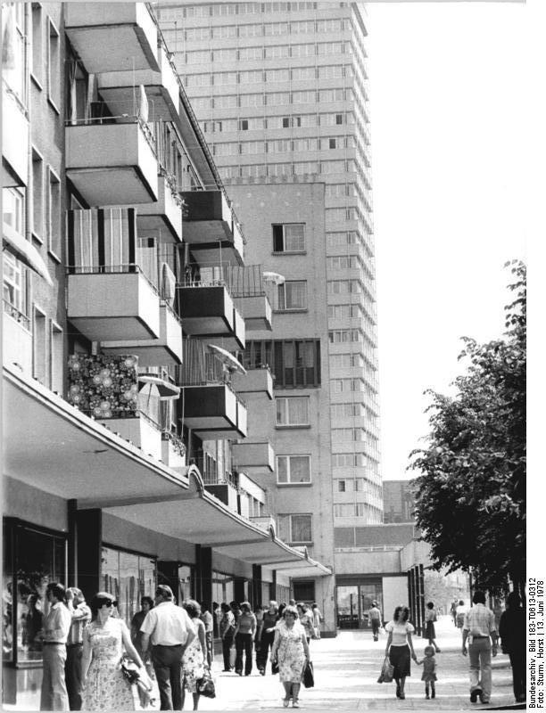 Frankfurt/Oder June 1978