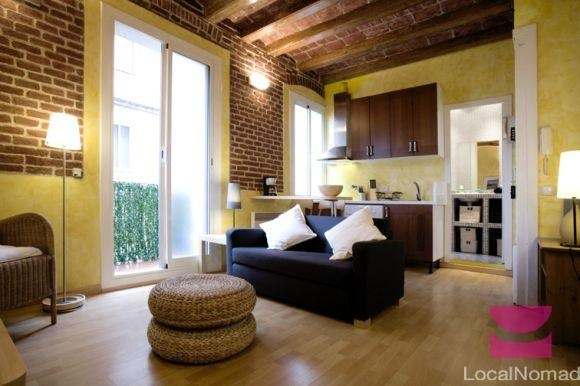 Our apartment in Barcelona