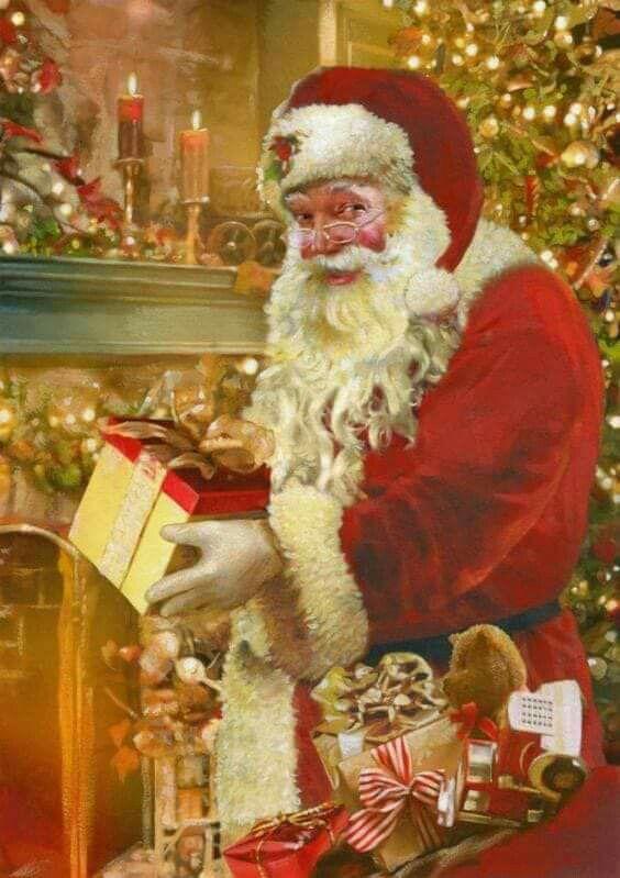 1281 best Santa Claus images on Pinterest   Papa noel, Father ...