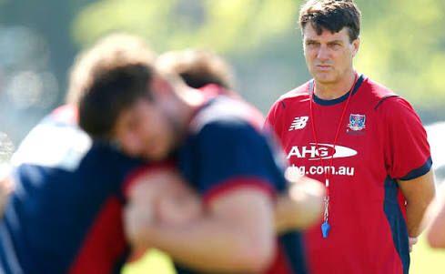Training looking good as Paul Roos looks over