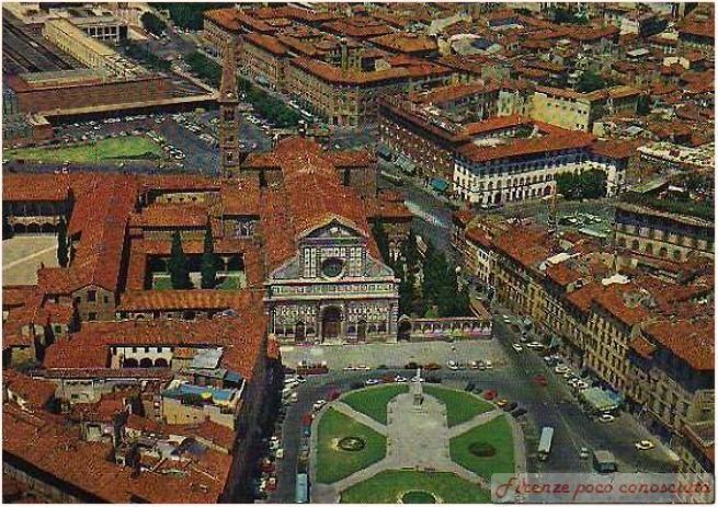 Foto aerea di Santa Maria Novella, adoro questa piazza, peccato che ancora non abbia trovato una giusta collocazione