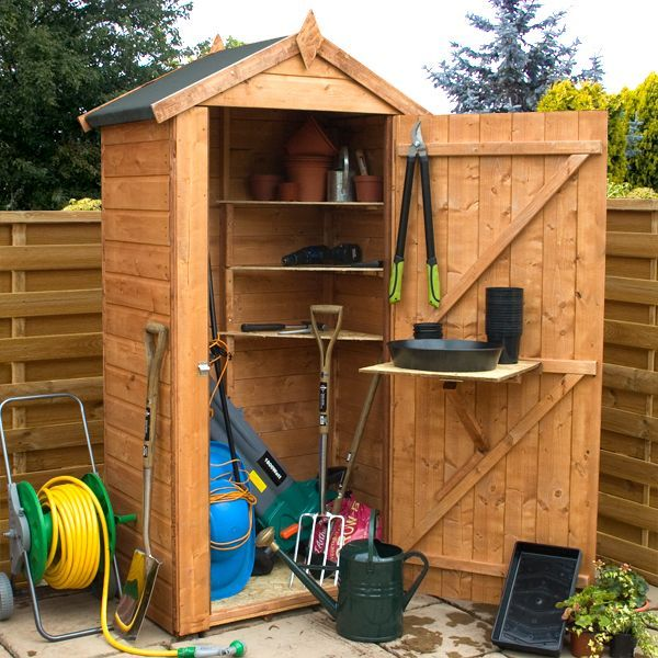 Garden Storage Sheds | Walton's Grande Storage (dressed for display only) -  from . - 9 Best Dock Shed Images On Pinterest Shed Ideas, Outdoor Storage