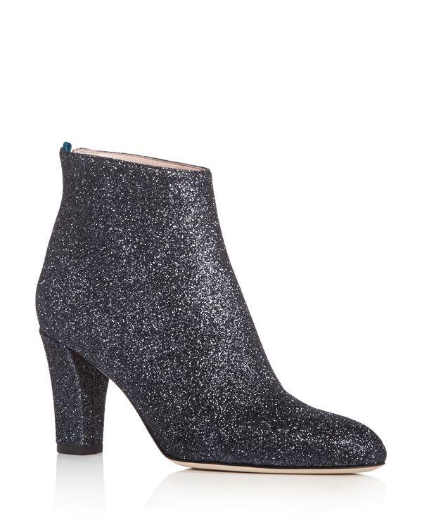 Sjp by Sarah Jessica Parker Minnie Glitter High Heel Booties