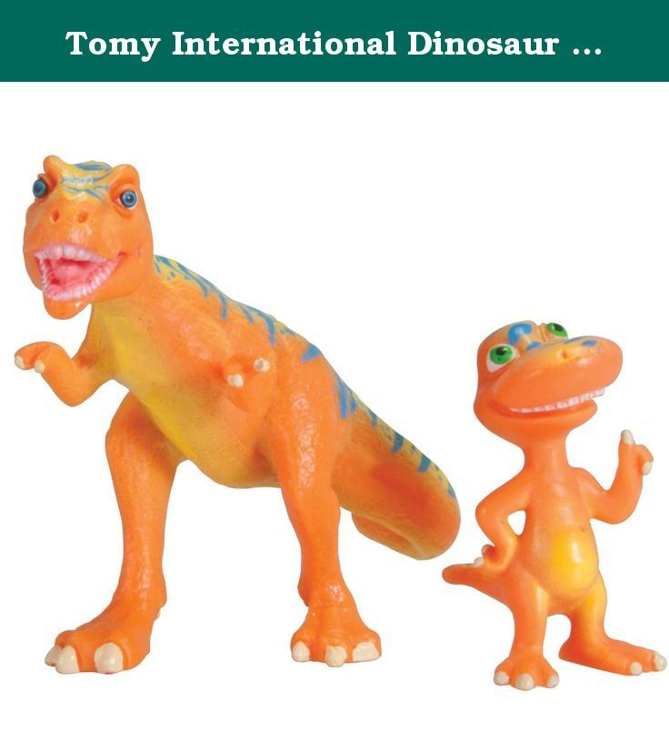 "Tomy International Dinosaur Train Boris and Buddy DinoVision 2 Pack. Dinosaur Train Dino Vision 2pk: Boris and Buddy What do you see? Inspired by Jim Henson's, Dinosaur Train, this collectible figure 2 pack features one of the Biggest Dinosaurs on Earth and his friend with a Big feature! From the ""DinoVision"" series, this 2 pack includes BIG Boris T-Rex and Buddy T. Rex with exclusive 3D colors! Put on the 3D glasses to see cool 3D effects on Buddy! Add this DinoVision 2 pack to any…"