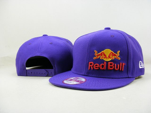 Red Bull Snapback Hats 9Fifty Snapbacks Caps Purple 023