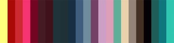 природные цветовые сочетания ультрамрин и красный - Поиск в Google