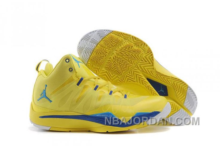 Blake Griffin Shoes Jordan Super.Fly 2X Sonic Yellow. Cheap ...