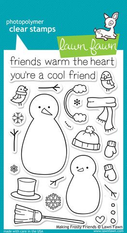 Making frosty friends by Lawn Fawn $15  Sold out - direct from their website