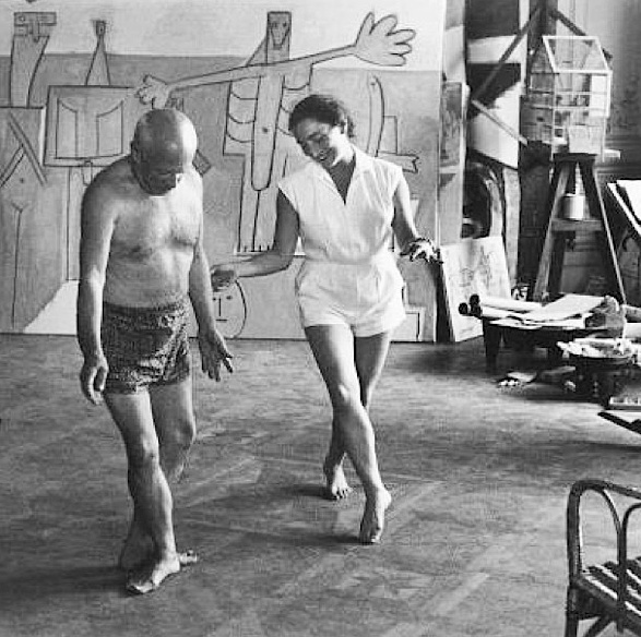 Picasso dancing