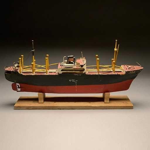 55 best FOLK ART WOOD TOY BOATS images on Pinterest | Pond, Yachts ...