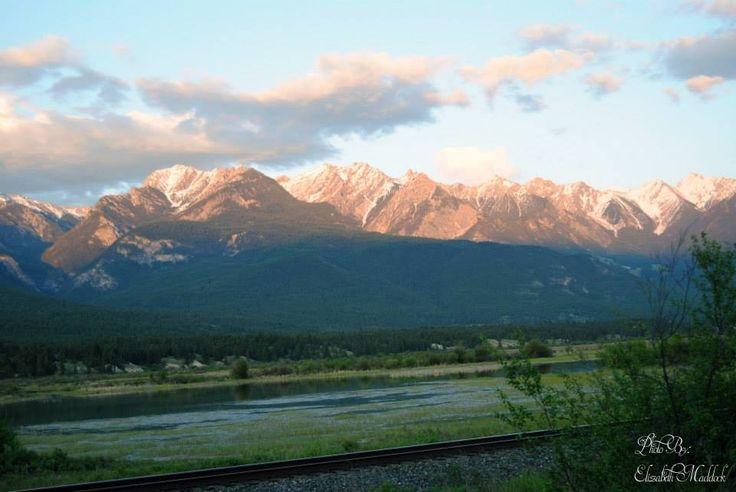 Beautiful Canadian Rockies in British Columbia.  Www.elizabethseverlastingphotography.ca