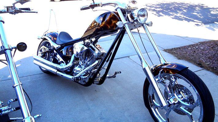 Big Dog K9 motorcycle for sale