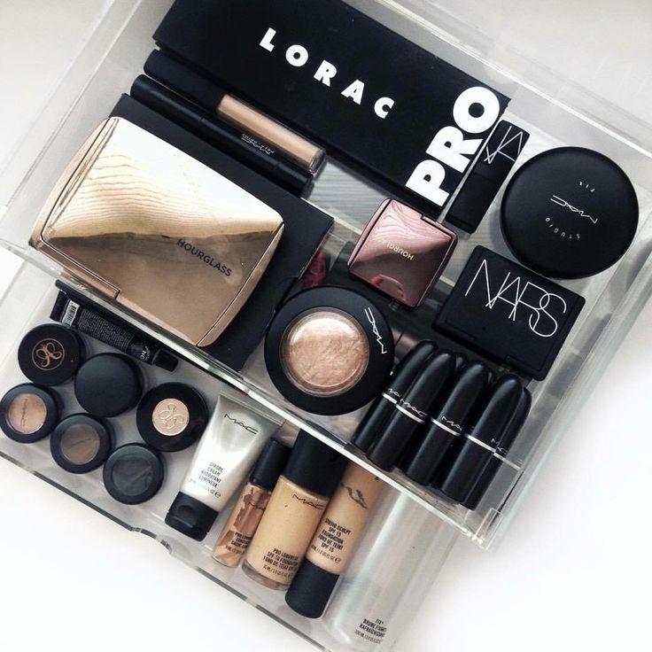 Source Unknown - muji makeup storage