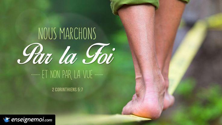 2 Corinthiens 5:7