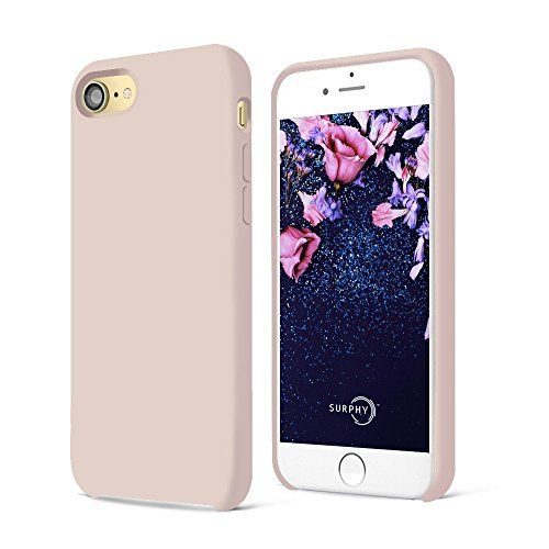 Funda iPhone 7,SURPHY Ultra suave 4.7 pulgadas Case líquido de silicona Gel iPhone 7 Slim Fit suave con forro de gamuza de microfibra suave cojín,Rosado #Funda #iPhone #,SURPHY #Ultra #suave #pulgadas #Case #líquido #silicona #Slim #forro #gamuza #microfibra #cojín,Rosado
