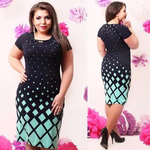 Women's Plus Size Summer Dress