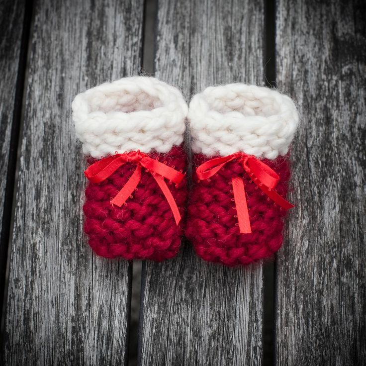 Loom Knitting Patterns For Beginners Pdf : Loom knit baby booties shoes pattern beginner friendly