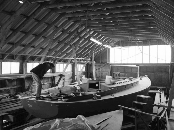 Gannon and Benjamin shipyard - Vineyard Haven, MA | nabega ...