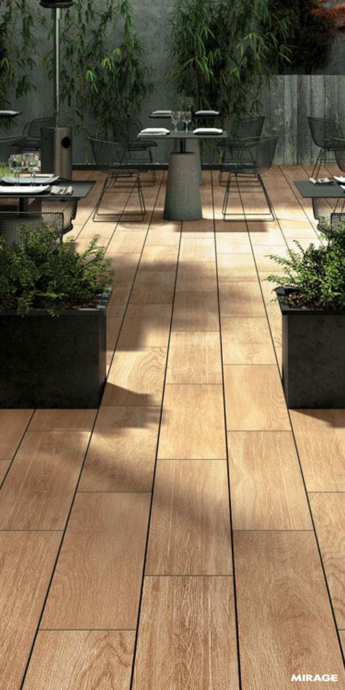 Outdoor | Flooring for Gardens | #Minimalist and inspired by #Scandinavian #design, or worn and marked by time, the #wood-effect collections by Mirage combine the fine quality and elegance associated with #parquet with the technical advantages of #porcelain #stoneware. #evomirage #outdoordesign #outdoors #exteriordesign #porcelainstoneware #tiles #porcelaintiles #outdoortiles #woodtile #woodtiles #woodflooring #decorative #instatiles #homedesign #homestyle #architecture #italiantiles