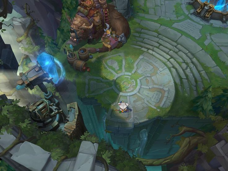 Dev Blog: Defining the Rift's Visual Style   League of Legends