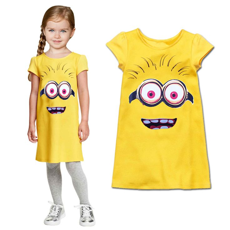 Cotton Dress //Price: $13.92 & FREE Shipping //     #stuart #minionfan #minionfanart #smile