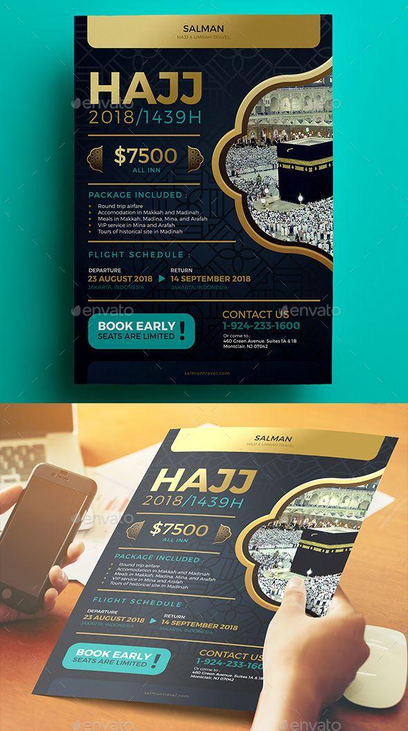 Best Design Umroh Images On   Brochures Brochure