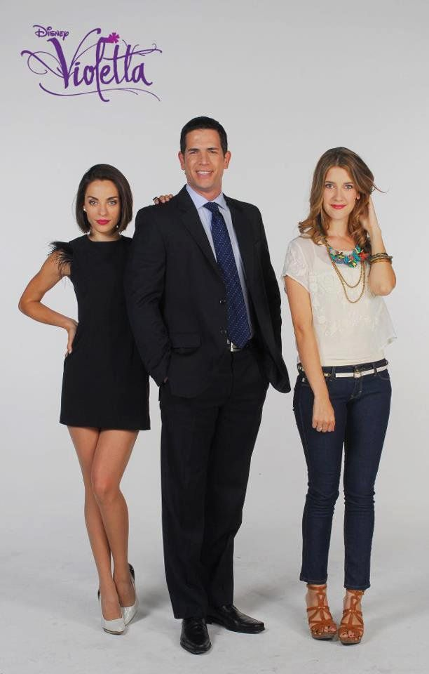 Jade,Germán and Angie #Violetta