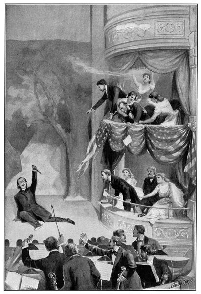 abraham lincoln's assassination | Abraham Lincoln Assassination: Assassination of President Lincoln.