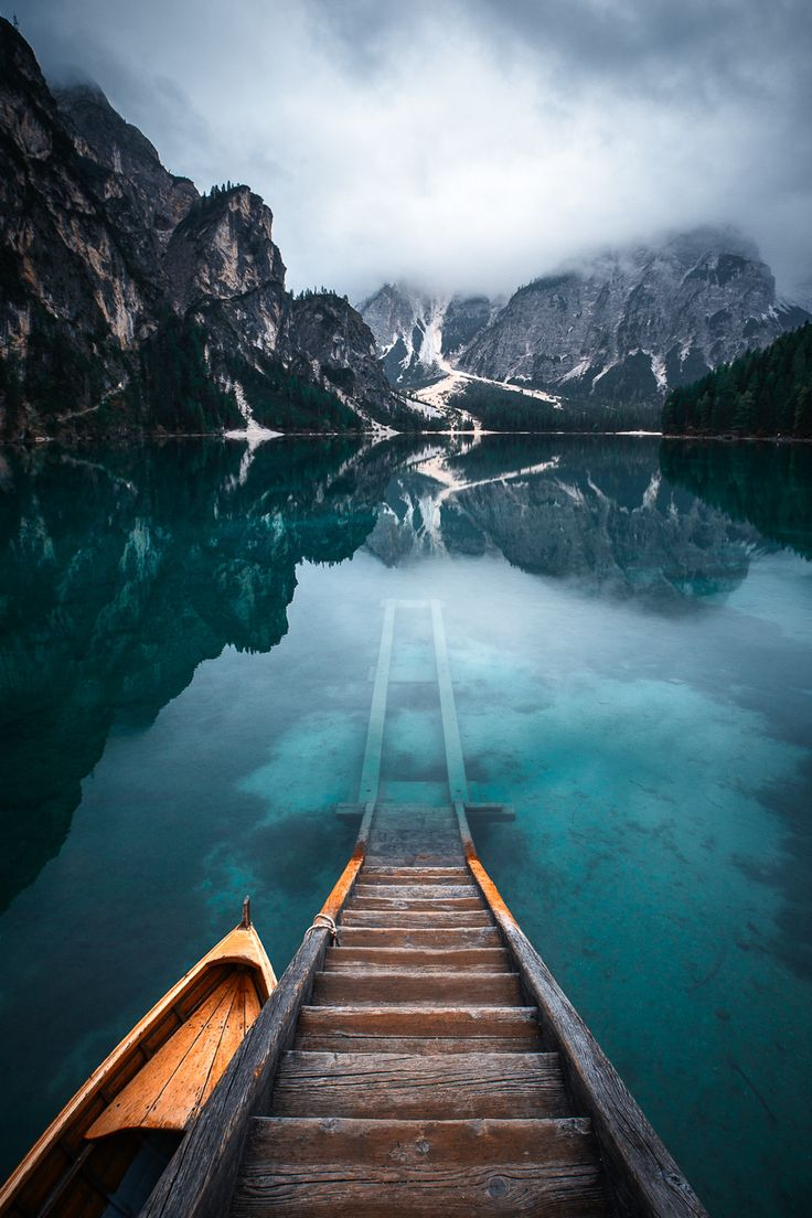 """Morning Breeze - Morning mood at Lago Di Braies, Dolomites, Italy. follow me on <a href=""""http://www.facebook.com/guerelsahinpictures"""">FACEBOOK</a> <a href=""""https://instagram.com/guerelsahinpictures/"""">INSTAGRAM</a> <a href=""""http://www.guerelsahinpictures.com"""">WEBSITE</a> <a href=""""http://www.pinterest.com/guerelsahin/"""">PINTEREST</a>"""