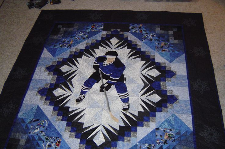 hockey fabric for quilting | hockey