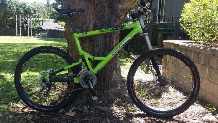 Cannondale Jekyll C Trailgumby Mountain Biking Bicycle Bike