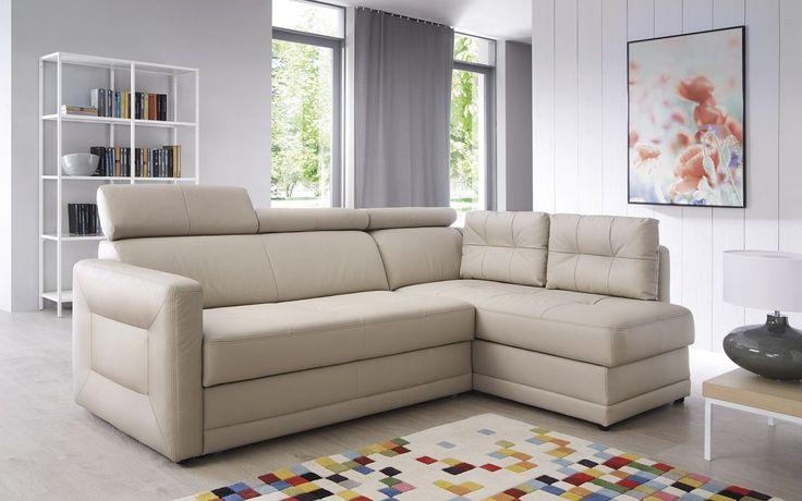 Mały, zgrabny i bardzo wygodny, a przy tym niezwykle funkcjonalny - narożnik Eden, z luźnymi poduchami oparciowymi. Pasuje do mniejszych i większych salonów. #galaprimo #galacollezione #dosalonu #inspiracje #inspiration #design #interiordesign #furnituredesign #sofadesign #furniture #meble #wnętrza
