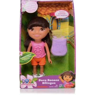 Boneca Dora Aventureira Bilíngue Mattel Fisher Price - R$ 119,99 no MercadoLivre