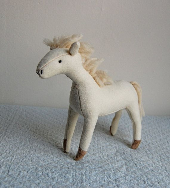 White Horse by sian on Etsy, $70.00