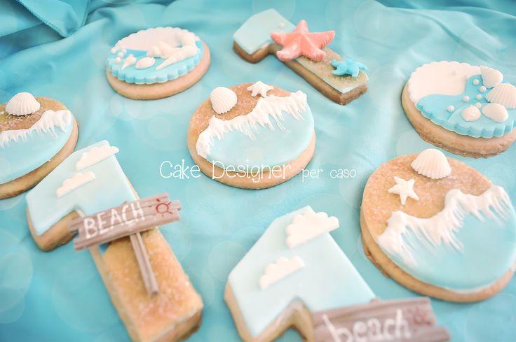Cake Designer per caso [Beach Cookies]