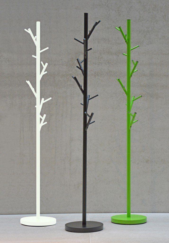 Jan Kurtz Coat/Tree Design Height 170 cm 3 Colours, Metal, white, ø 28 cm, h 170 cm: Amazon.co.uk: Kitchen & Home