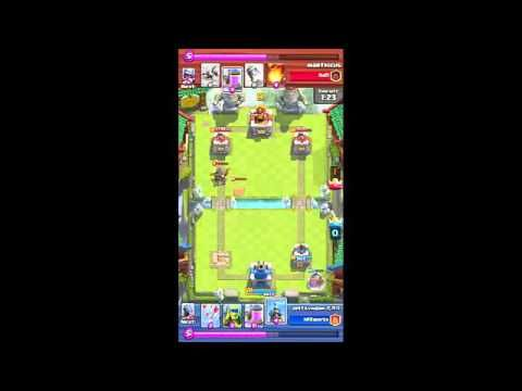 Clash Royale game play (this is why I don't get to war game)